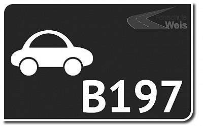 Jetzt bei uns....   Fahrerlaubnis B 197